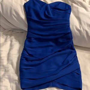 Sweetheart blue dress